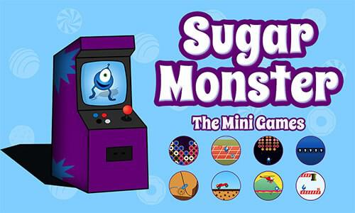 Sugar Monster The Mini Games