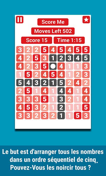 [JEU ANDROID - STRAIGHT PENTA] Jeu De Puzzle [Gratuit] ScreenShot2